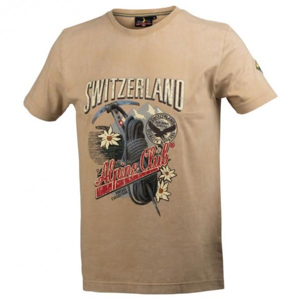 Herren T-Shirt Vintage Eispickel