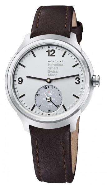 Mondaine Smartwatch Helvetica 1, braun