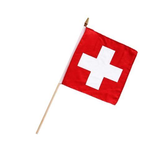 Schweizer Fahne, 25 x 25 cm