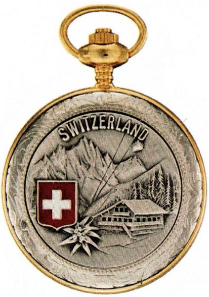 Taschenuhr Bolux 3P-12 Switzerland mit Kette