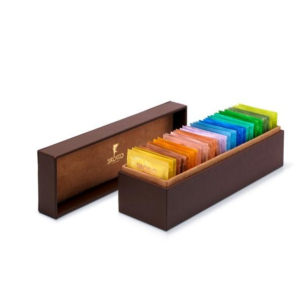 Sirocco Tee Präsentationsbox braun
