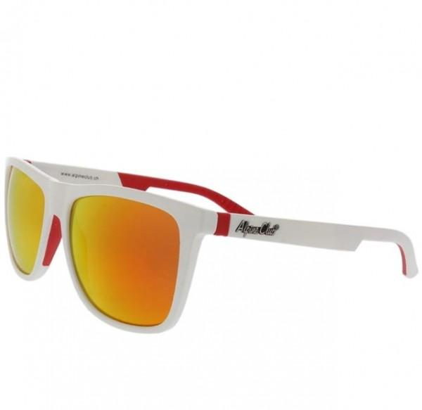 Sonnenbrille, weiss, 100% UV