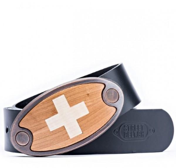 Schweizer Gürtel, Holz