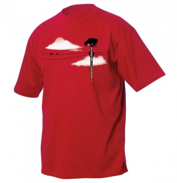 T-Shirt Kletter-Kuh