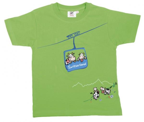 T-Shirt Seilbahn-Kuh,