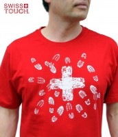 T-Shirt Swiss Cross, Country