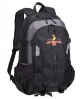 Rucksack Outdoor Travel, grau/schwarz