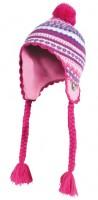 Kinder Tibeter Wintermütze pink