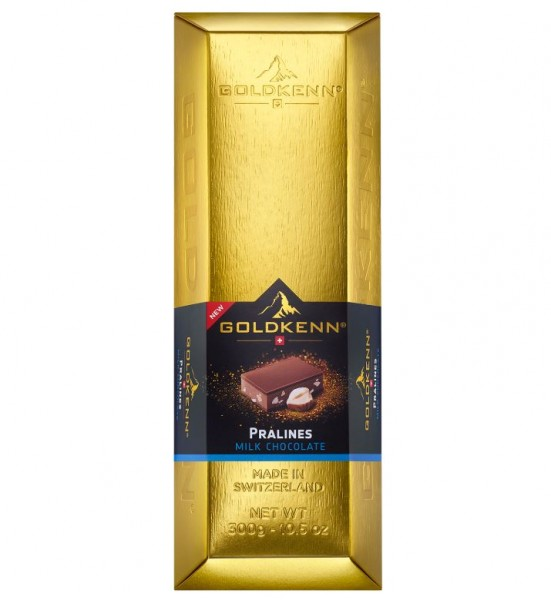 Schokolade Swiss Goldbarren - Milch Pralinen 300g