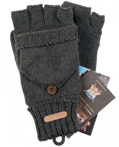 Finger-Fausthandschuh Unisex, gra