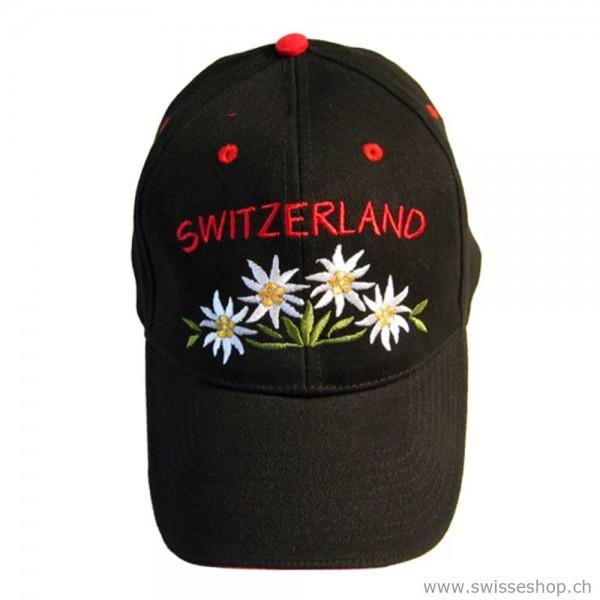 cap-muetze-schweiz-souvenir-edelweiss-SCHWARZ-6000206