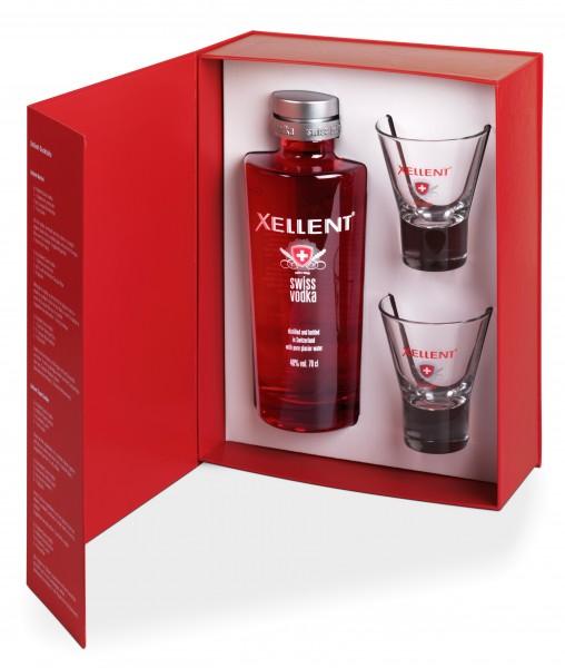 Swiss Wodka Geschenk-Set