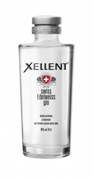 Swiss Edelweiss Gin XELLENT