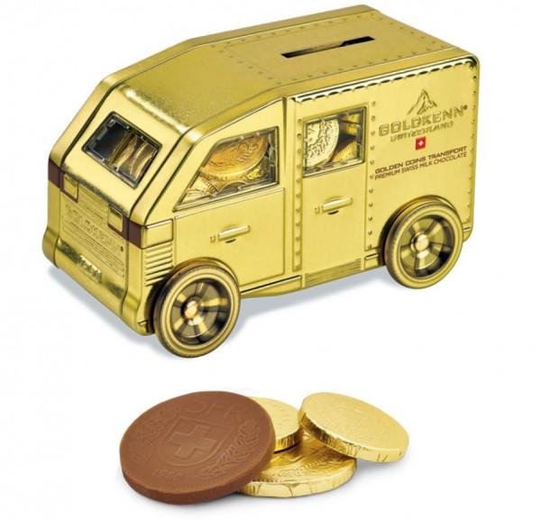 GOLDVAN Schokoladen-Goldmünzen, 180g