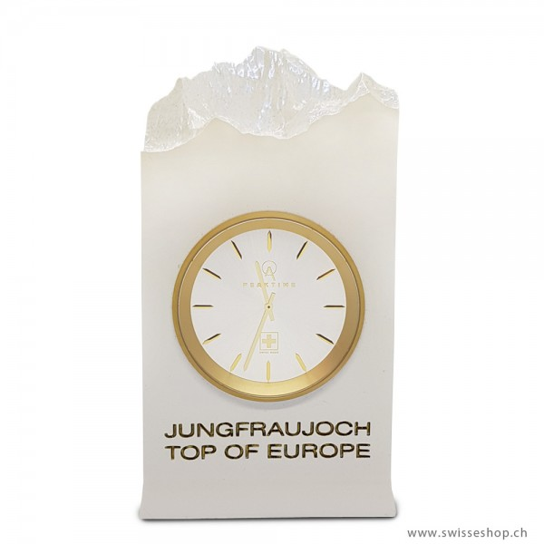 Tischuhr Jungfraujoch