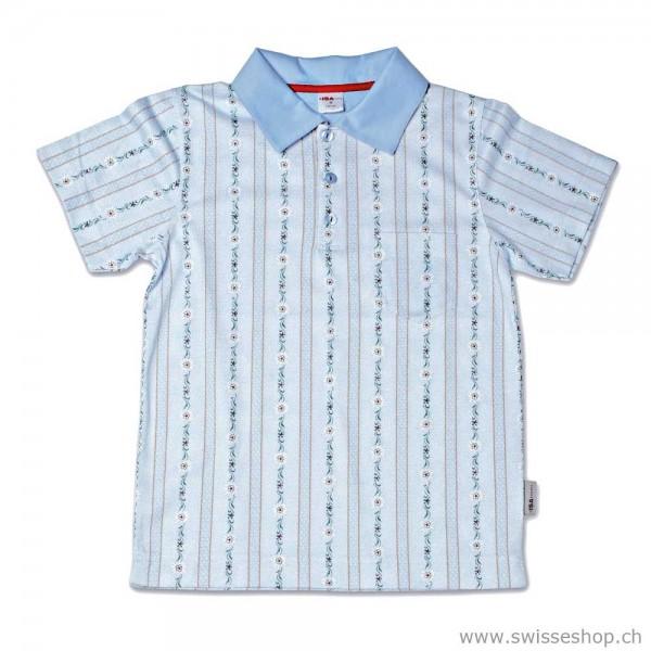 Kinder Poloshirt Kurzarm 1/4 Sleeve