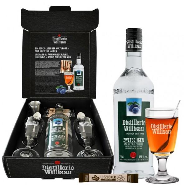 Kafi Luz Distillerie Willisau Geschenkset, 37.5% Vol., 70 cl
