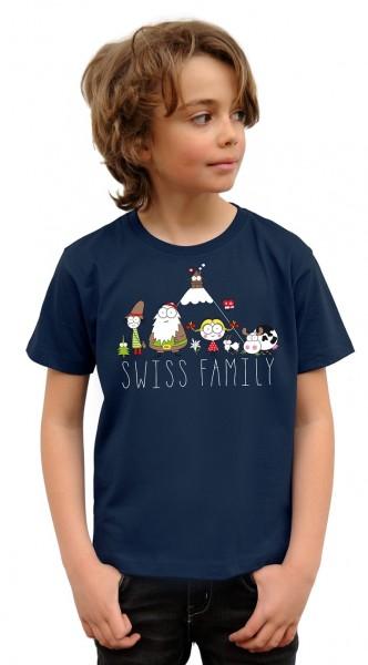 Kinder T-Shirt Swiss Family