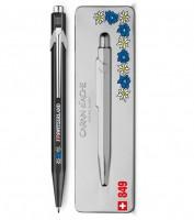 Caran d'Ache Kugelschreiber 849 Edelweiss mit Etui
