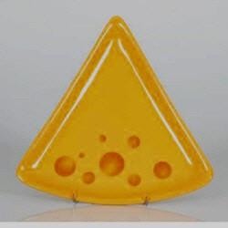 Set Käse Fondue-Teller Formaggio- konisch