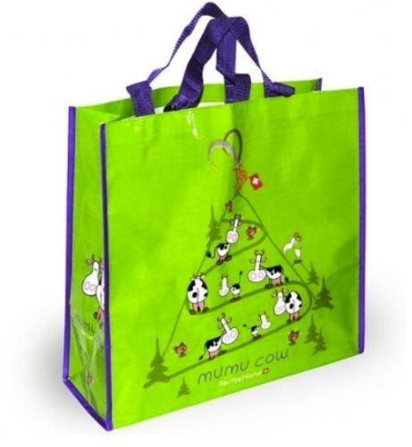 Einkaufstasche Mumucow grün