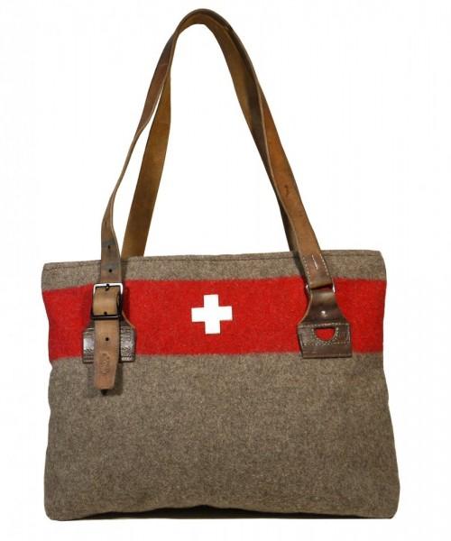 Damentasche Shopper Army Recycling