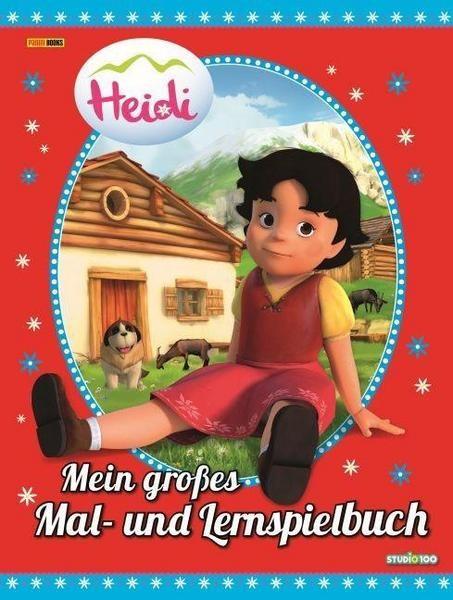 Heidi - Mein grosses Mal- und Lernspielbuch