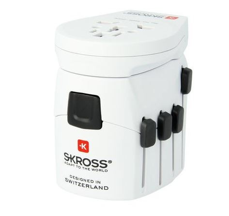 World Adapter & USB - SKROSS PRO