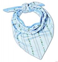 Baby-Kopftuch Schwinger, hellblau
