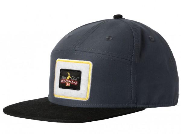 Cap Alpine Club, grau-schwarz